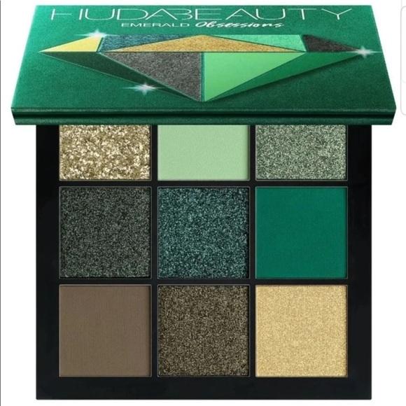 HUDA BEAUTY Other - Huda Beauty Emerald Obsessions Eye Shadow